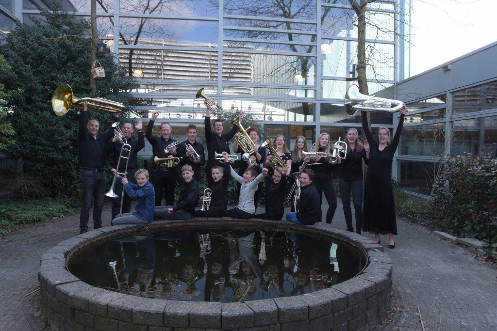 Flevo Brass presenteert met trots opleidingsorkest Eigen Wijs